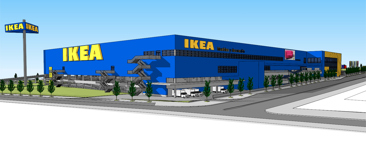 Daie dise o an lisis ingenier a estructural for Ikea oficinas centrales